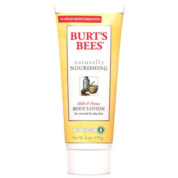 Burt's Bees Naturally Nourishing Milk & Honey Body Lotion - Loção Corporal 170g