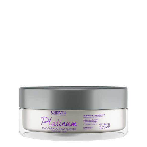 Cadiveu Professional Platinum Tratamento - Máscara 140g