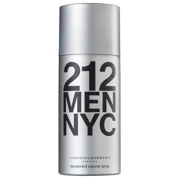 Carolina Herrera 212 Men Deo Spray - Desodorante Corporal 150ml