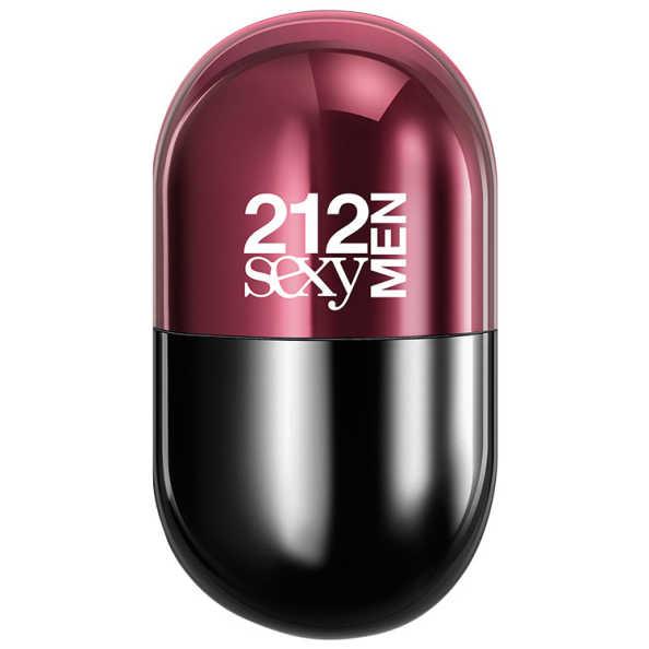 212 Sexy Men Pills Carolina Herrera Eau de Toilette - Perfume Masculino 20ml
