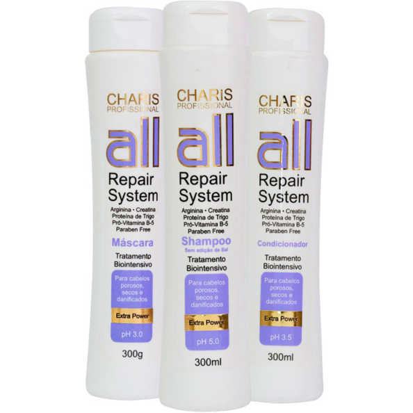 Charis All Repair System Kit (3 Produtos)