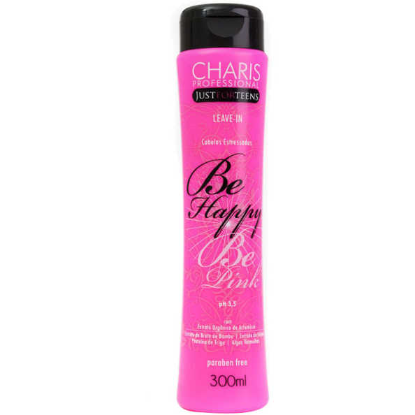 Charis Just for Teens Be Happy Be Pink Leave-In - Finalizador Leave-In 300ml