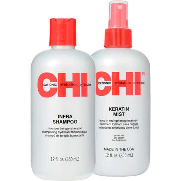 CHI Infra Keratin Strengthening Kit (2 Produtos)