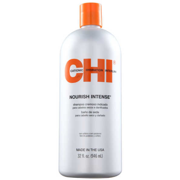 CHI Nourish Intense Hydrating Silk Bath - Shampoo 950ml