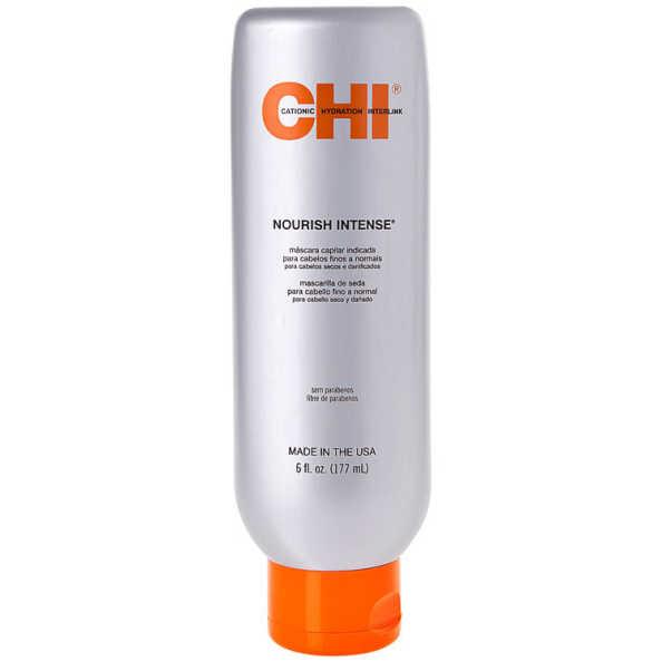 CHI Nourish Intense Silk Hair Masque for Fine To Normal Hair - Máscara de Tratamento 177ml