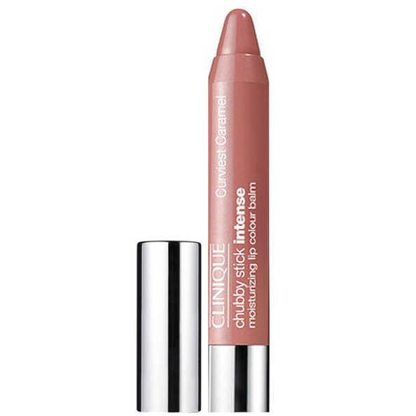 Clinique Chubby Stick Intense Moisturizing Lip Colour Balm Curviest Caramel - Batom 3g