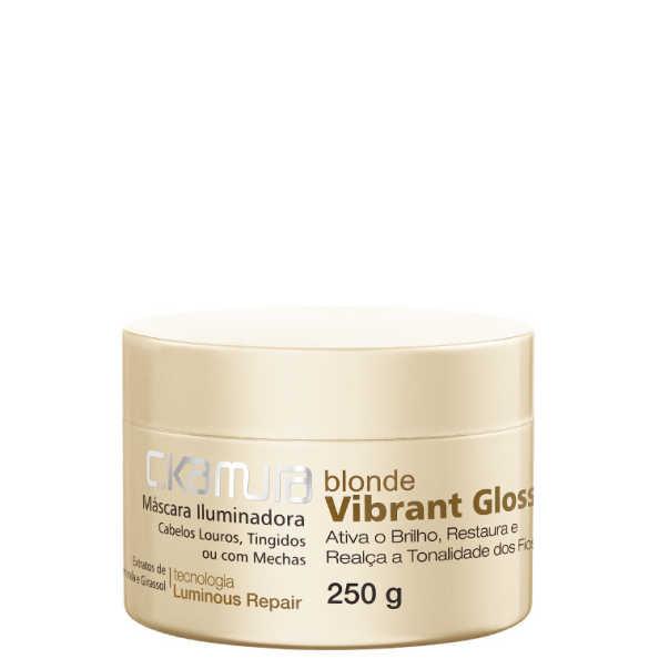 C.Kamura Blonde Vibrant Gloss - Máscara Iluminadora 250g