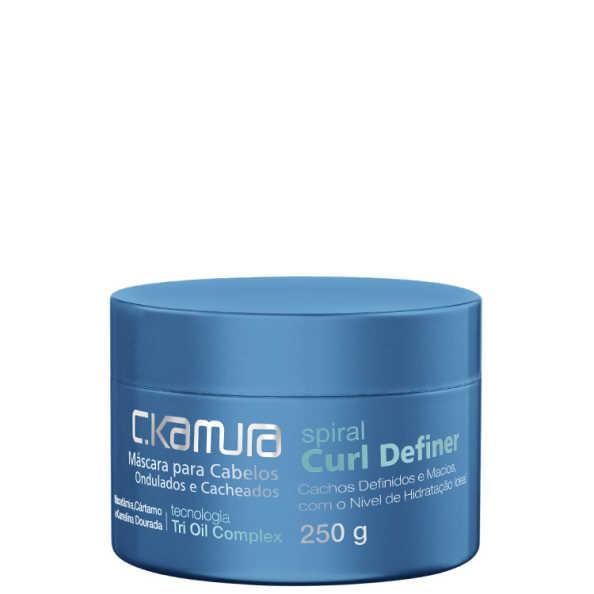 C.Kamura Spiral Curl Definer - Máscara de Tratamento 250g