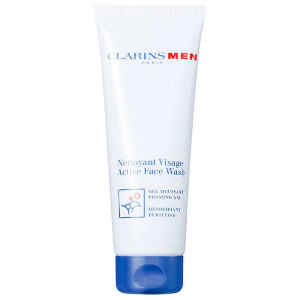 Clarinsmen Active Face Wash - Espuma de Limpeza Esfoliante 125ml
