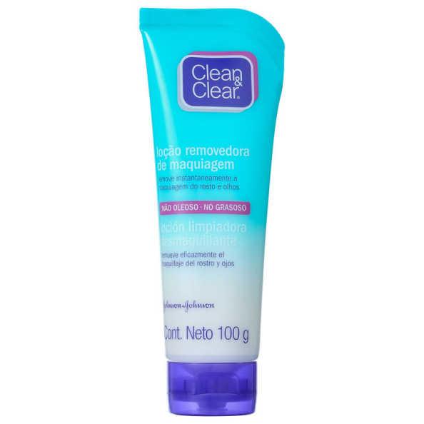 Clean & Clear Loção Removedora de Maquiagem - Demaquilante 100ml