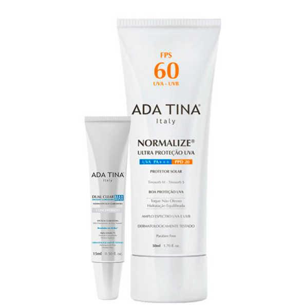 Ada Tina Clear Max Normalize Fps 60 Kit (2 Produtos)