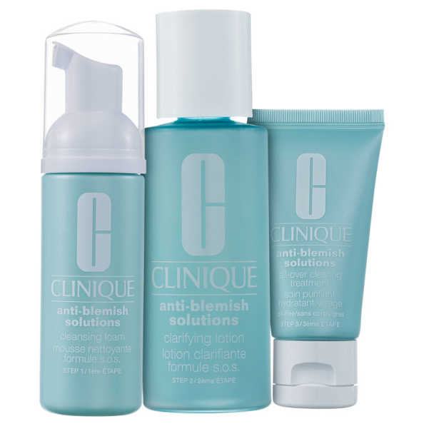 Clinique Anti-Blemish Solutions Clear Clarifying Kit (3 Produtos)