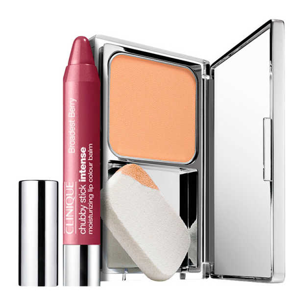 Clinique Makeup Intense Toasted Berry Kit (2 Produtos)