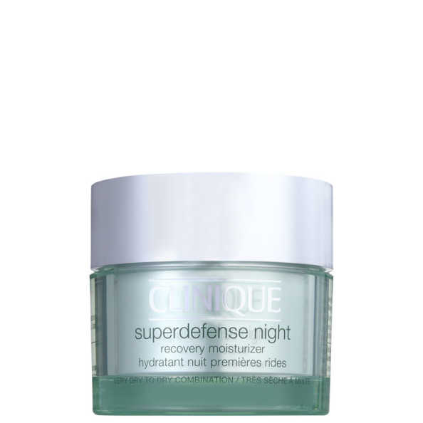 Clinique Superdefense Night Recovery Moisturizer Skin Type 1 - 2 - Anti-Idade Noturno 50ml