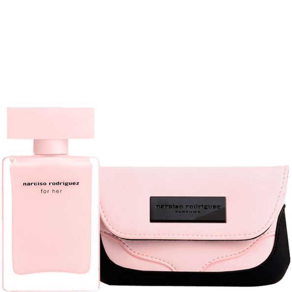 Conjunto For Her Narciso Rodriguez Feminino - Eau de Parfum 50ml + Nécessaire