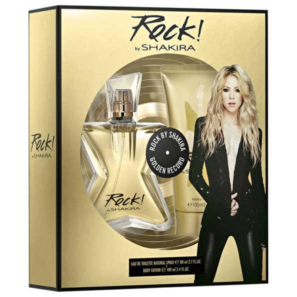 Conjunto Rock! by Shakira Feminino - Eau de Toilette 80ml + Loção Corporal 100ml