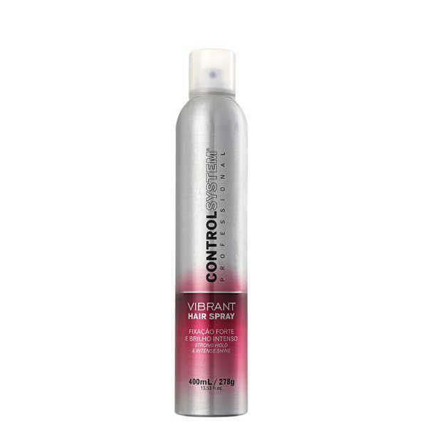 Control System Professional Vibrant Hair Spray - Spray de Fixação 400ml