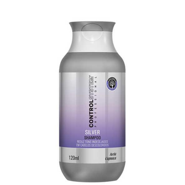 Control System Professional Silver - Shampoo 120ml