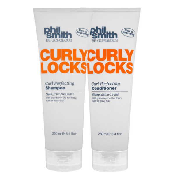 Phil Smith Curly Locks Curl Perfecting Duo Kit (2 Produtos)