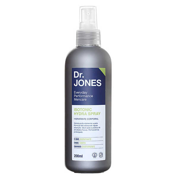 Dr. Jones Isotonic Hydra Spray - Hidratante Corporal 200ml