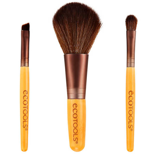 Ecotools Mini Essentials Set - Kit de Maquiagem (3 Produtos)