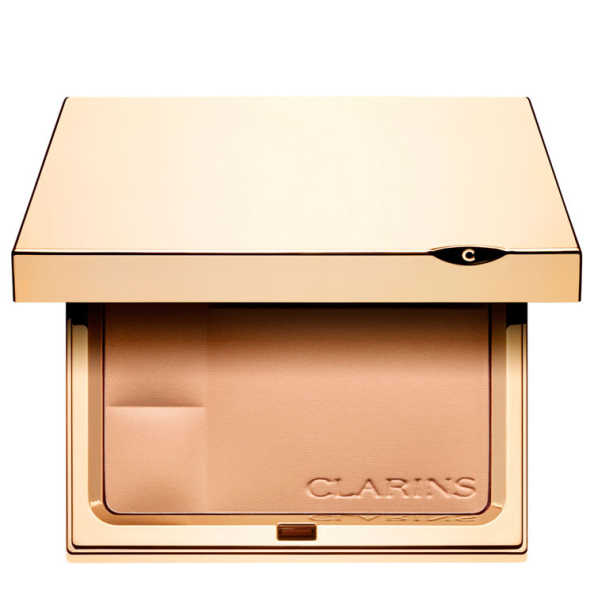 Clarins Ever Matte Shine Control Mineral Powder Compact 01 Transparent Fair - Pó Compacto