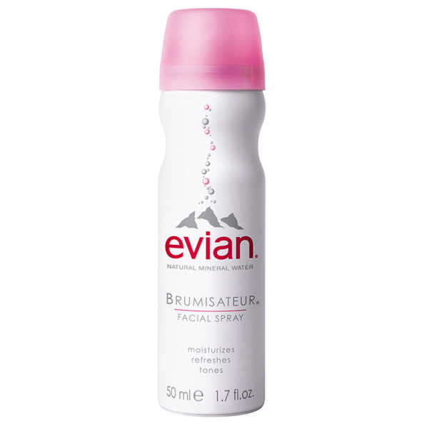 Evian Natural Mineral Water Brumisateur Facial Spray - Água Termal 50ml