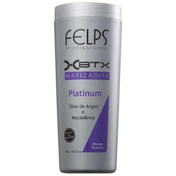 Felps Profissional XBTX Platinum - Redutor de Volume 1000g