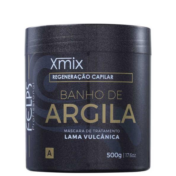Felps Profissional Xmix Banho de Argila - Máscara 500g