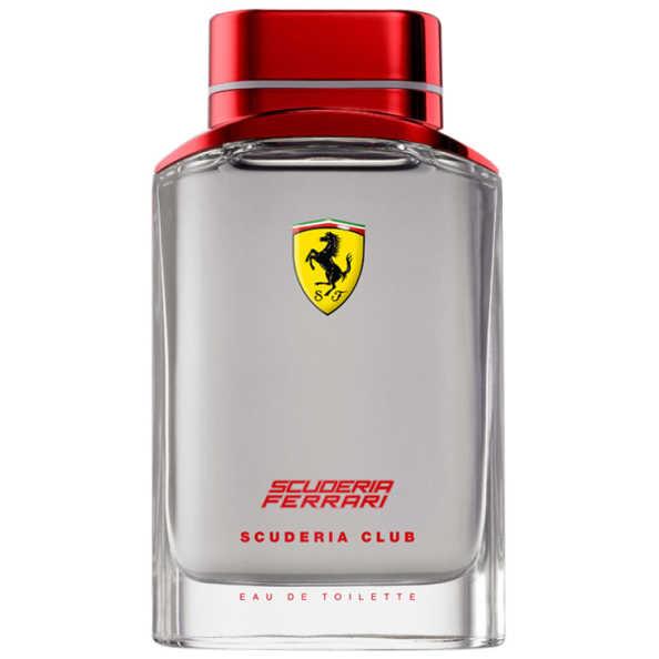 Scuderia Club Ferrari Eau de Toilette - Perfume Masculino 125ml