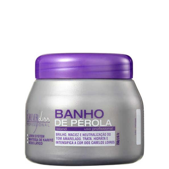Forever Liss Professional Banho de Pérola - Máscara Hidratante 250g