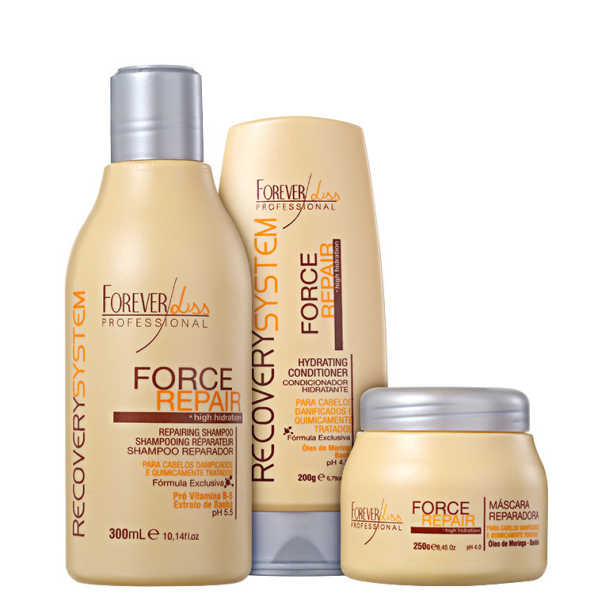 Forever Liss Professional Force Repair Trio Kit (3 Produtos)