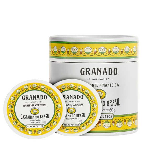 Granado Terrapeutics Esfoliante + Manteiga Castanha do Brasil Kit (2 Produtos)