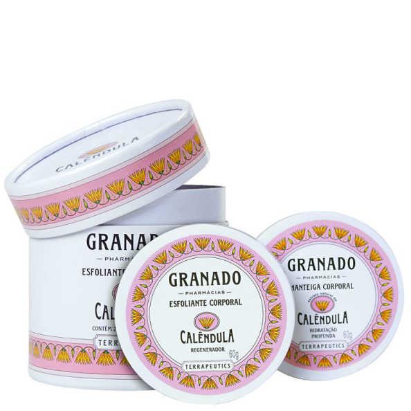 Granado Terrapeutics Esfoliante + Manteiga Calêndula Kit (2 Produtos)
