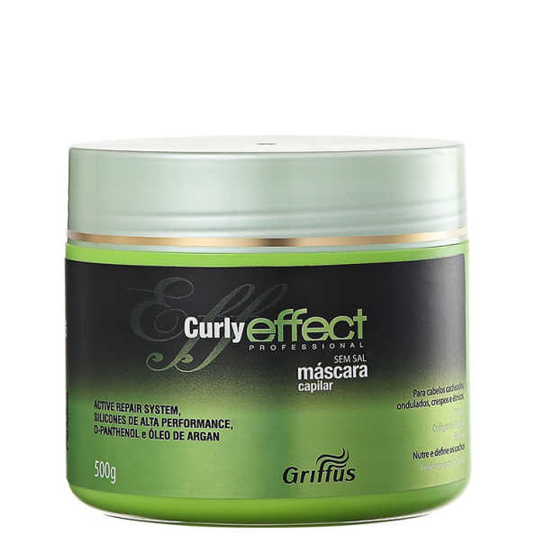 Griffus Curly Effect - Máscara 500g