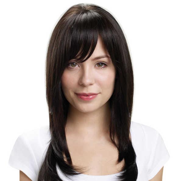 Hairdo Franja - Castanho Super Escuro