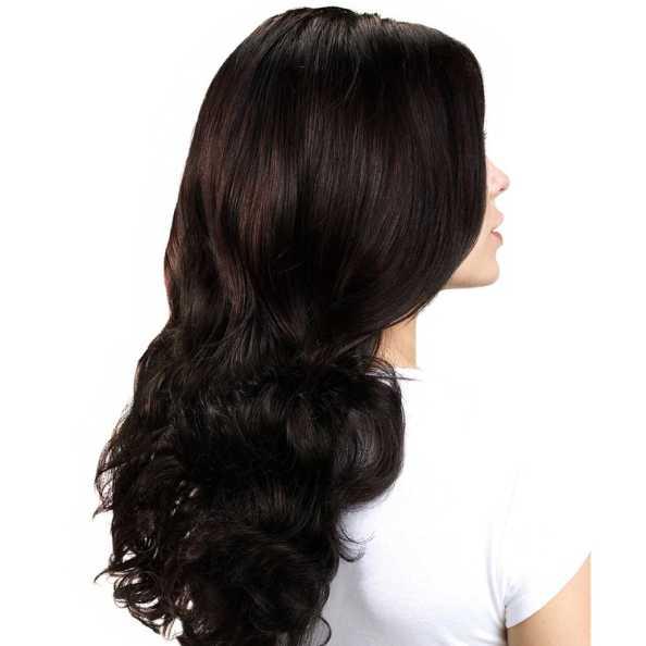 Hairdo Ondulado - Castanho Super Escuro 58 Cm