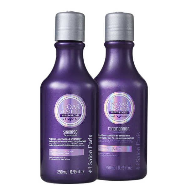 Inoar Absolut Speed Blond Duo Violet Kit (2 Produtos)