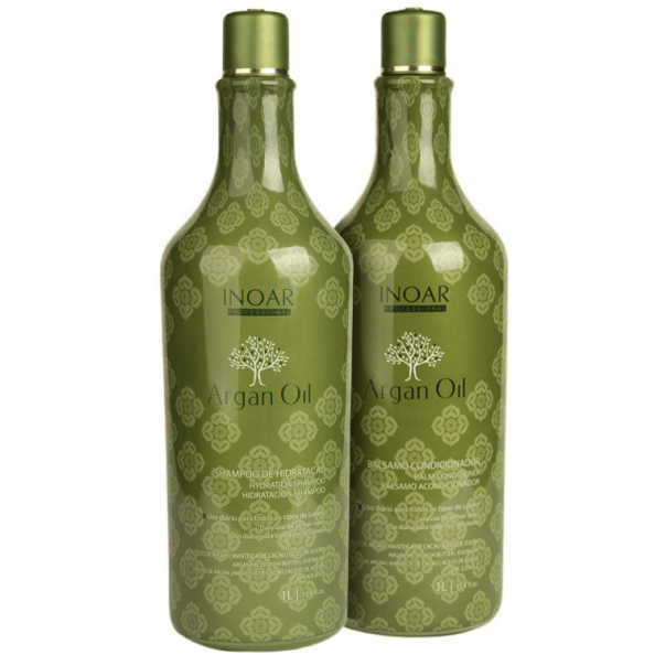 Inoar Argan Oil Salon Duo Kit (2 Produtos)