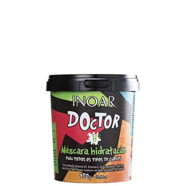 Inoar Doctor Máscara Hidratação - Máscara de Tratamento 450g