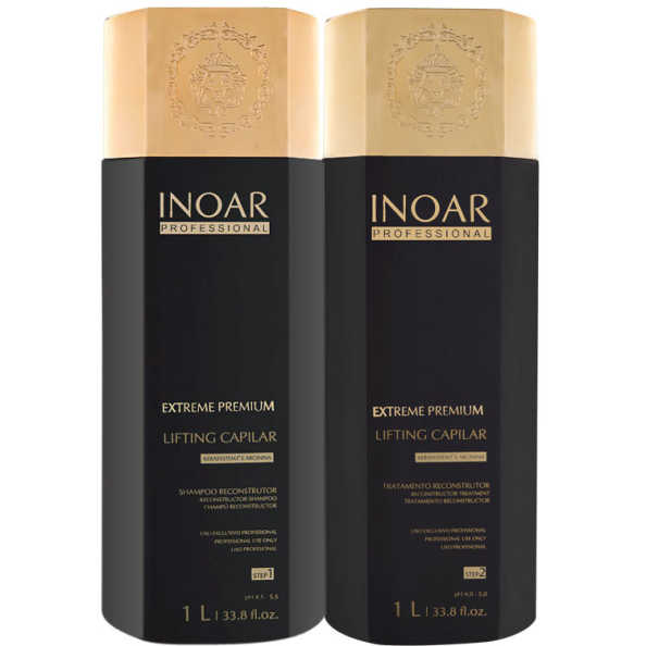 Inoar Extreme Premium Lifting Capilar Kit (2 Produtos)