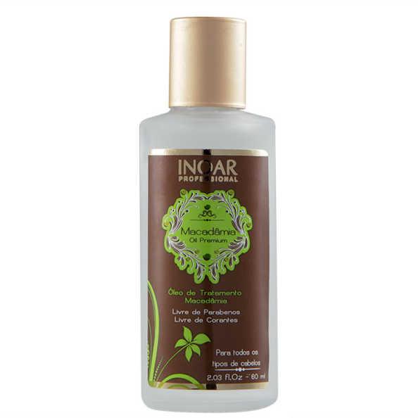 Inoar Macadamia Oil Premium Oleo de Tratamento - 60ml
