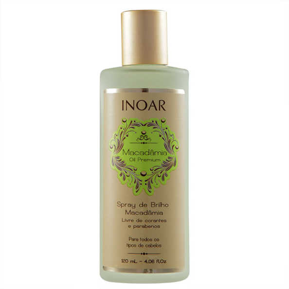Inoar Macadâmia Oil Premium Spray de Brilho - 120ml