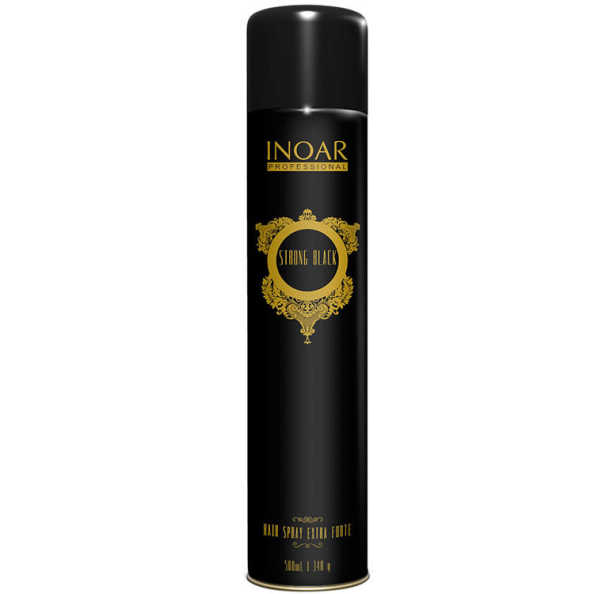 Inoar Strong Black Hair Spray Extra Forte - Spray 500ml