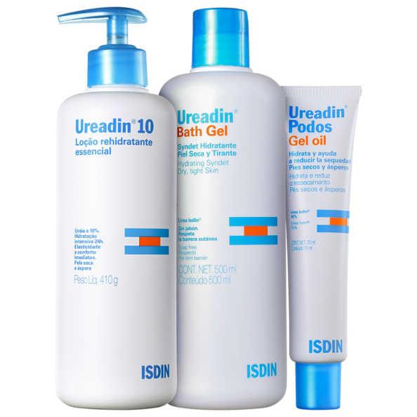 ISDIN Ureadin Hidratação Pele Seca Kit (3 Produtos)