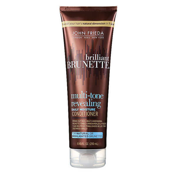 John Frieda Brilliant Brunette Moisturizing Conditioner - Condicionador 250ml
