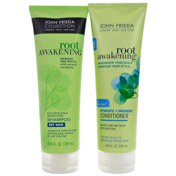 John Frieda Root Awakening Strength Restoring Breakage - Prone Duo Kit (2 Produtos)