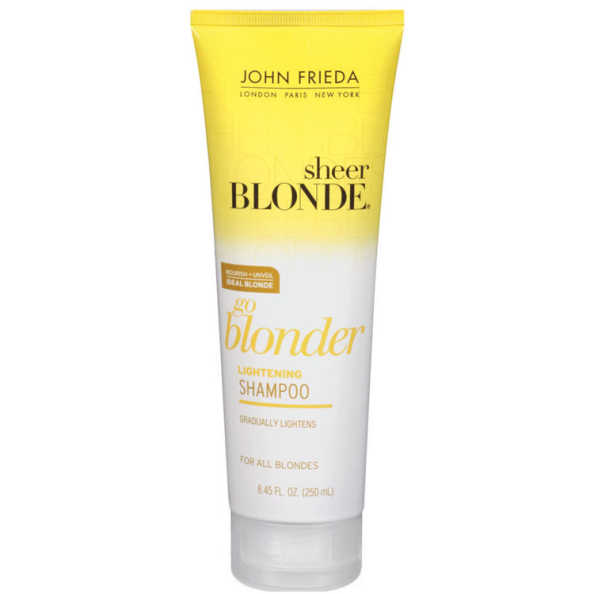 John Frieda Sheer Blonde Go Blonder Lightening Shampoo All Blondes - 250ml
