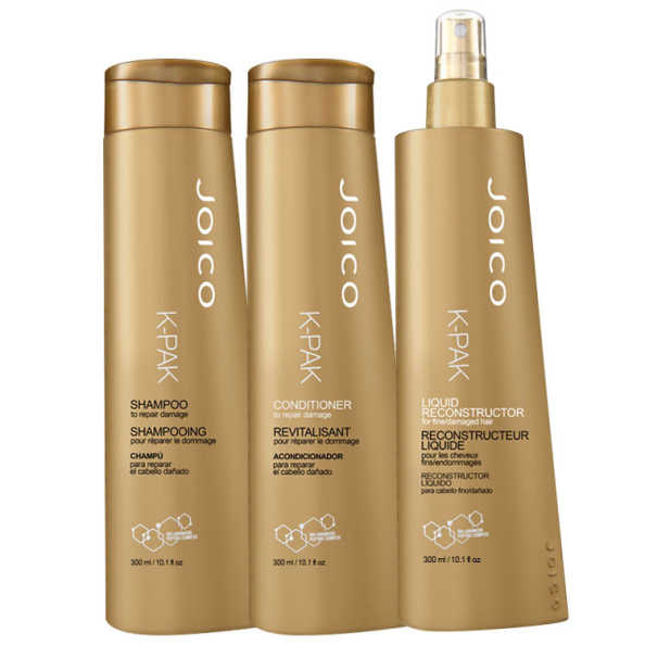 Joico K-Pak Liquid Reconstruction Kit (3 Produtos)