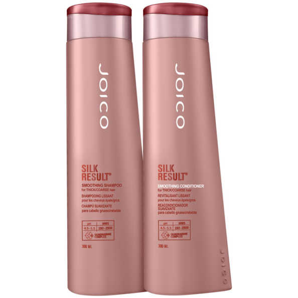 Joico Silk Result Smoothing Thick/Coarse Hair Kit (2 Produtos)
